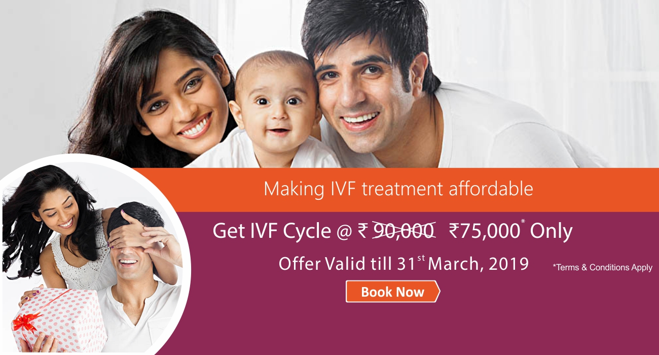 IVF Cycle @RS. 75,000